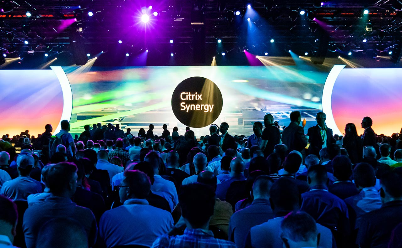 Citrix Synergy event photo
