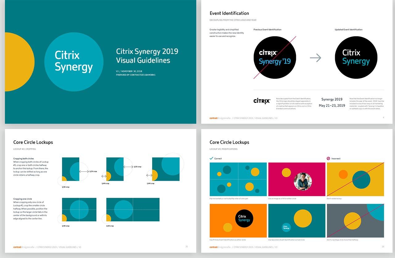 Citrix Synergy visual guidelines