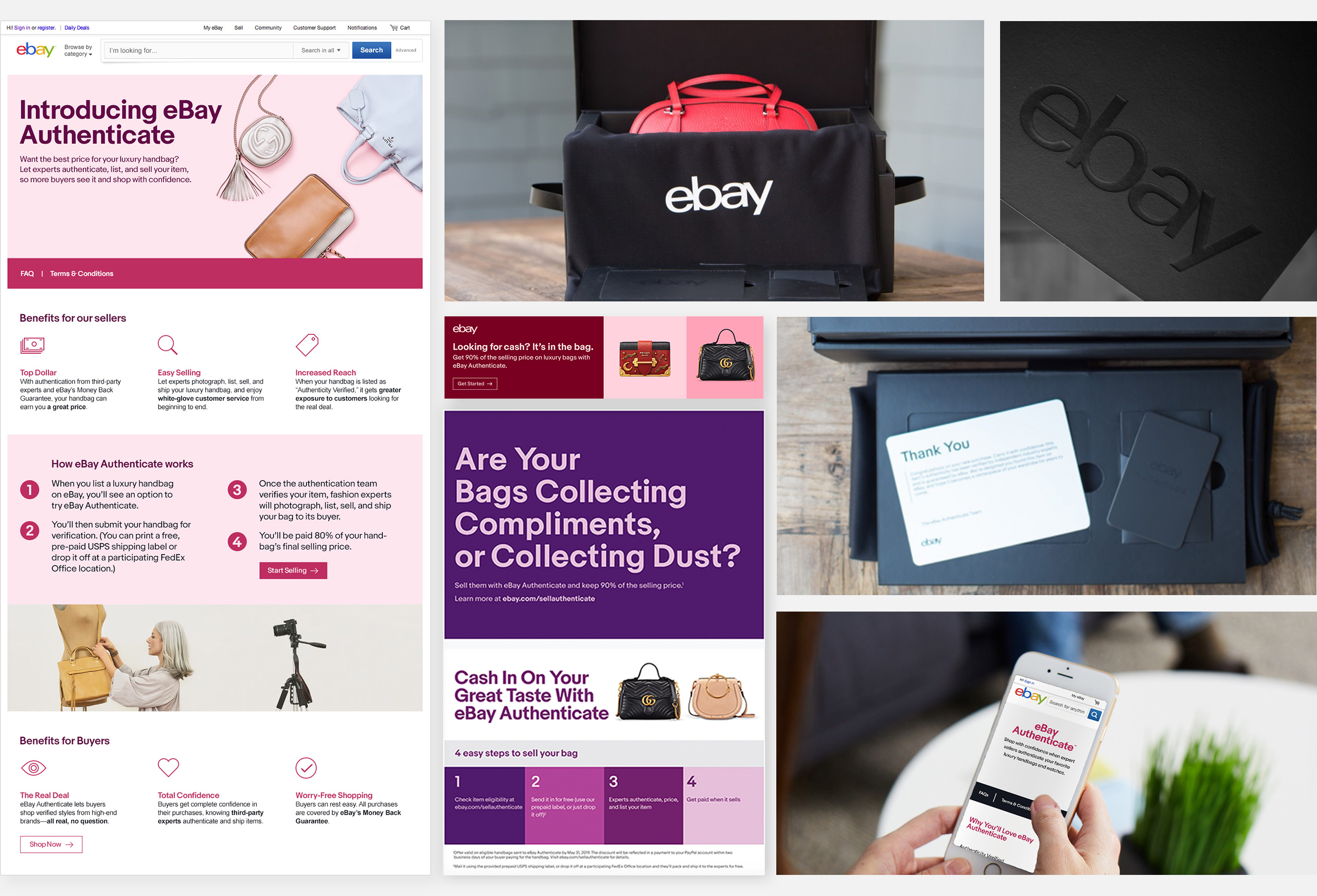 eBay Authenticate Assets